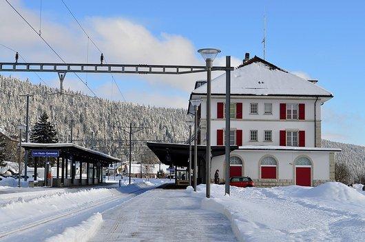La Gare des Hauts-Geneveys (Ne)