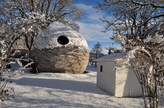 Évasion Lunaire sous la neige à Cernier