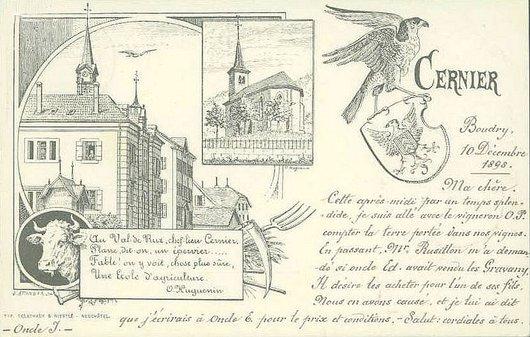 Cernier Epervier 1898