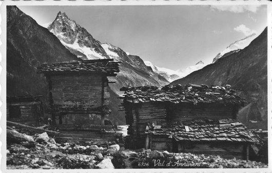 Zinal en 1930