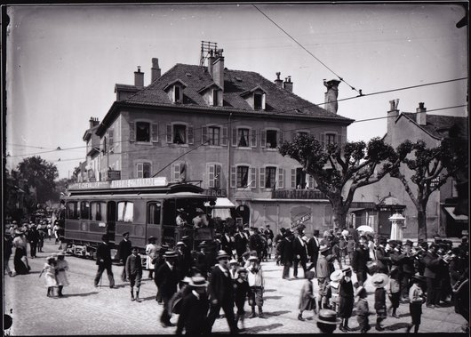 Carouge, Place du Marché, 1906