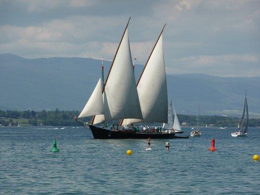 Barque du Léman, la Savoie