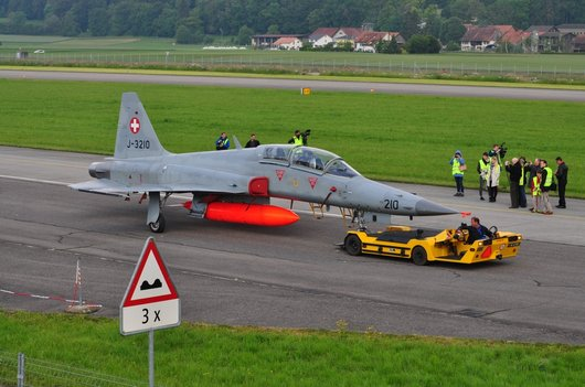 Sortie d'un F-5 Tiger pour un exercice