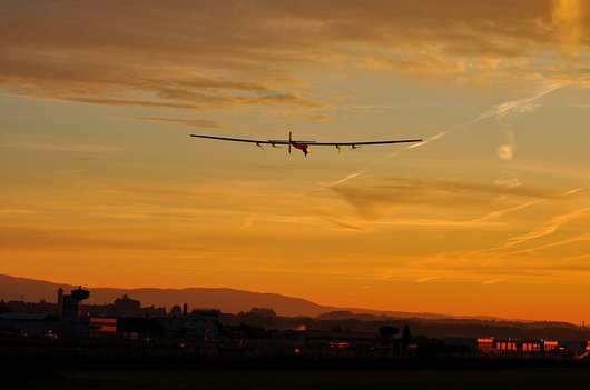 Solar Impulse 2, lors du second vol d'essai