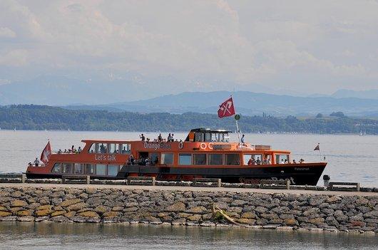 MS Petersinsel - Orange Boat