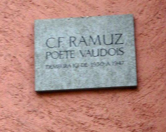 Plaque Ramuz