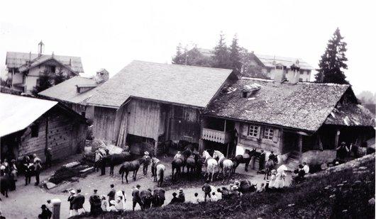 Chesières-Ollon août 1914
