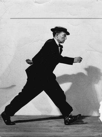 Buster Keaton au Cirque Médrano à Paris