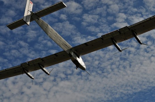 Solar Impulse 2, en phase d'atterrissage