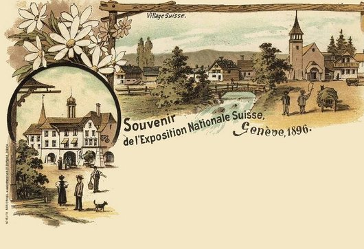 Exposition Nationale Suisse Genève 1896