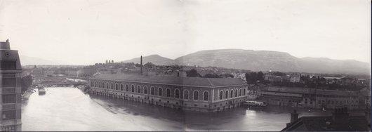 Genève vue panoramique de 1896