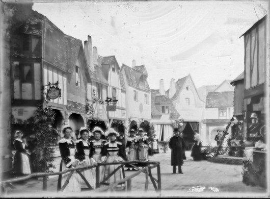 Bazar de charité pour l'église St.-François, 1906