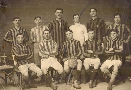 Photo-1ere-equipe, 1911-1912