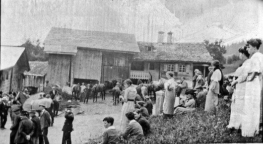 Chesières-Ollon, mobilisation 1914