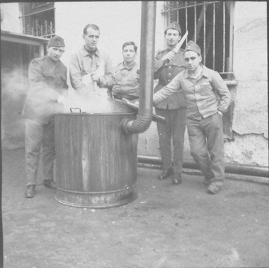 La soupe des soldats 1939-1945