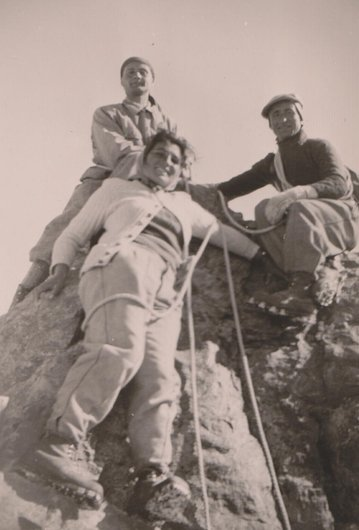 Ascension du Zinalrothorn (4221 m.)