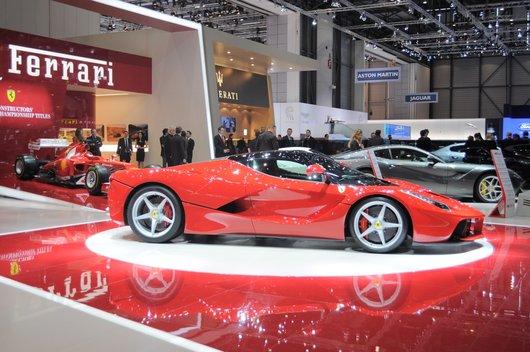 La Ferrari au Salon de l'auto 2013