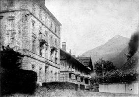 Grand hôtel d'Aigle et son chalet des bains