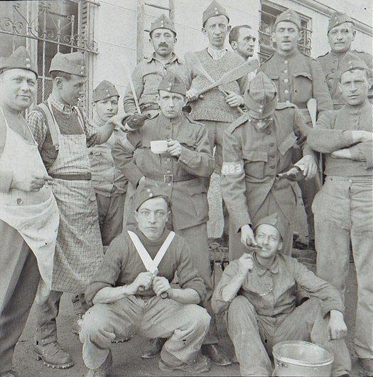 Mobilisation 1939-45 et la cuisine !