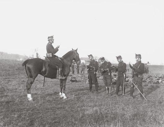 Bulle, au Dally, mobilisation de la compagnie des fusiliers II/14