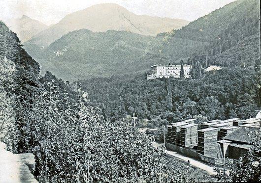Le Grand hôtel d'Aigle