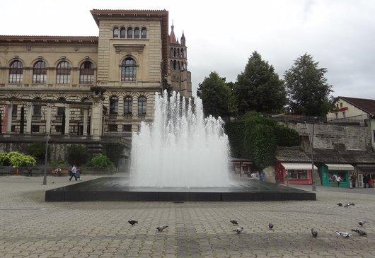 Fontaine «Eau-de-Vie» Lausanne