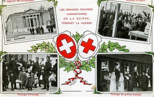 Les œuvres humanitaires de la Suisse