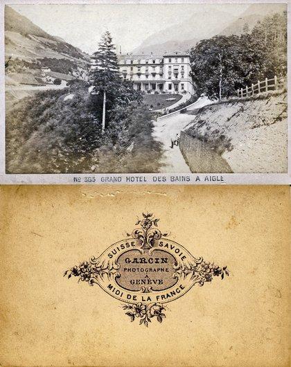 Aigle Grand hôtel des Bains