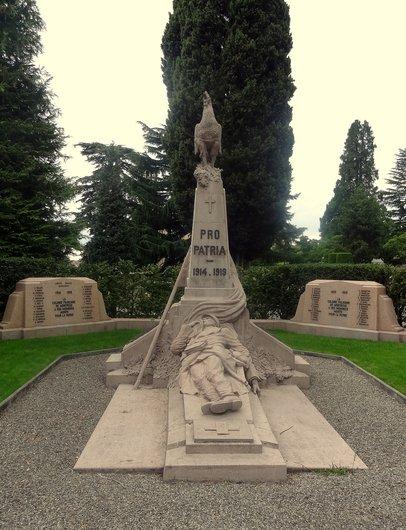 Monument aux internés alliés morts dans la région de Montreux