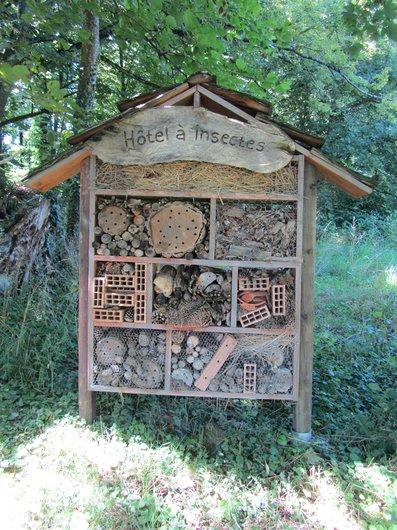 Lausanne UNIL Hôtel à insectes