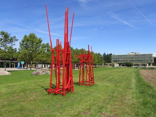 Lausanne UNIL Oeuvre de Achim Schroeteler