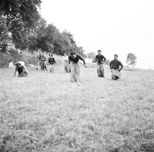 La course aux sacs . 16