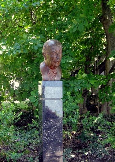 Buste de Richard Strauss - Oeuvre de Bernard Bavaud