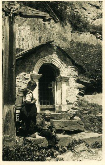 Chapelle dans le Lötschental