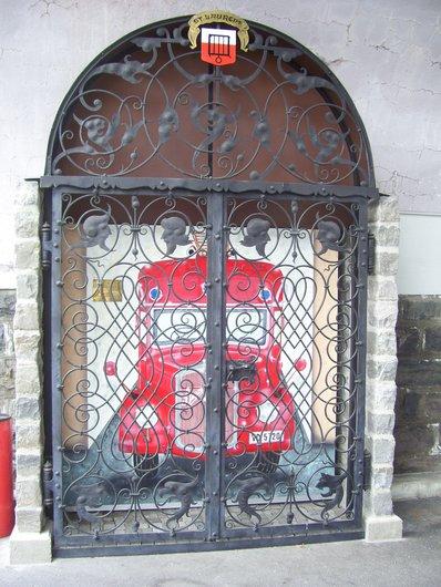 Lausanne, grille de l'Hôtel de Ville (bis)