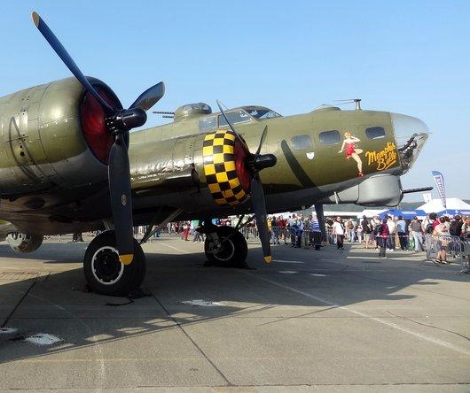 AIR14 Payerne B-17 Sally B