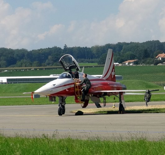 AIR14 Payerne / F-5 Tiger Patrouille Suisse