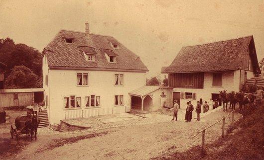 La maison de Zürich