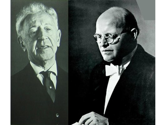 Arthur Rubinstein et Josef Krips