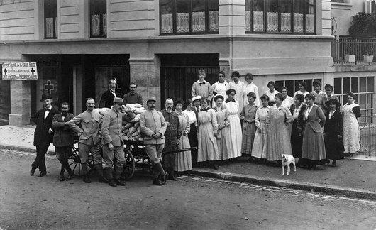 La section de la Croix Rouge à Montreux 1914-18