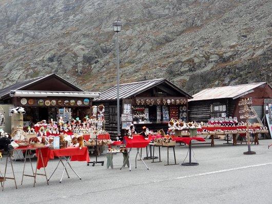 Kiosques à souvenirs - Col du Grand-St-Bernard