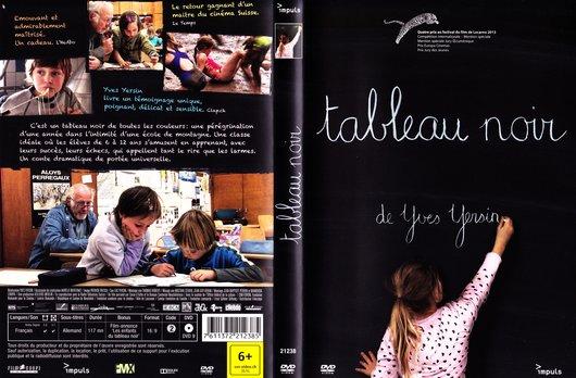 Tableau noir addiche DVD