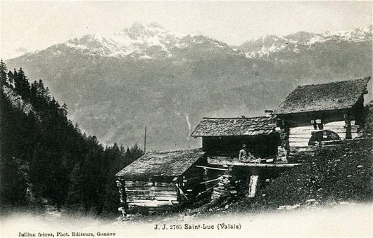 St-Luc, le meunier et ses moulins