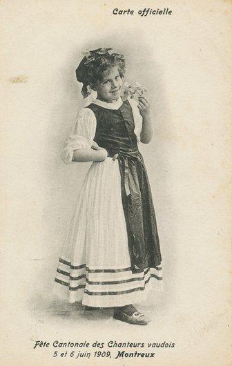 Fête cantonale des chanteurs vaudois 1909