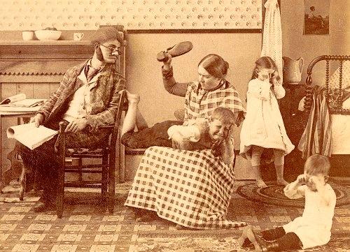 Enfants d'autrefois....