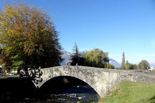 Aigle - Pont Napoléon sur la Grande-Eau