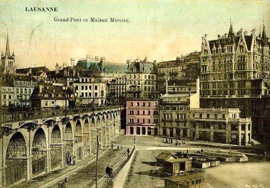 Le Grand Pont et Maison Mercier