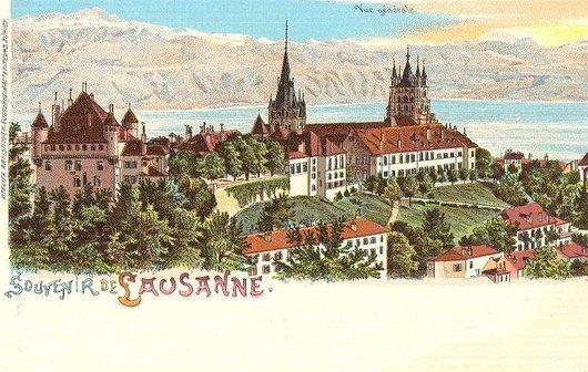 Souvenir de Lausanne