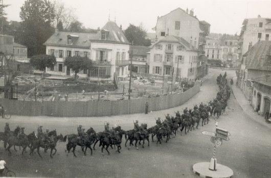Morges Place Dufour et rue de la Gare