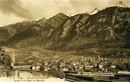 St-Maurice, vers 1910